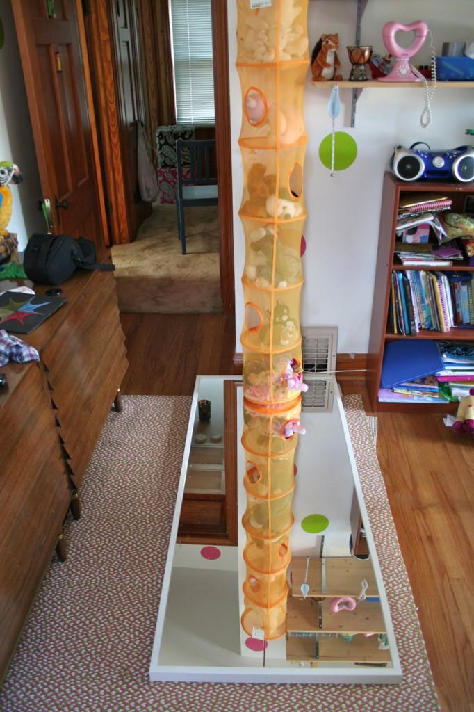 Double Stuffed Animal Column