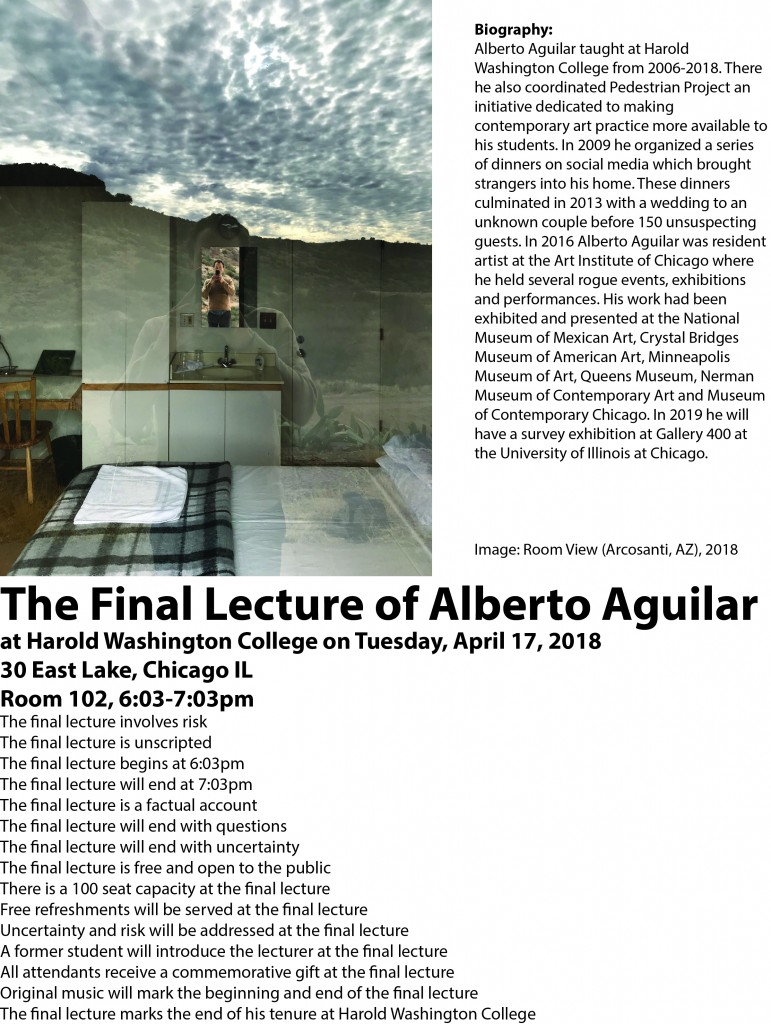 The Final Lecture